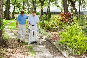 People with a slow walking speed were found to be one and a half times more likely to develop dementia over the age of 65. Photo / ThinkStock