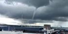 Readers' photos of the waterspout