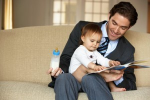 Hands-on dads are the family unit's unsung heros. Photo / Thinkstock