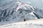 Speedflying uses a combination of paragliding, sky-diving and base jumping skills. File photo / Thinkstock