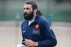 Sebastien Chabal. Photo / Greg Bowker