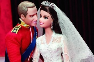 Barbie and Ken of Cornwall. Photo / Supplied