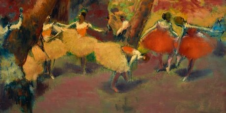 Before the Performance, Edgar Degas. Photo / Supplied