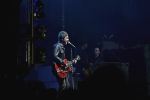 Noel Gallagher at the Big Day Out. Photo / Getty Images
