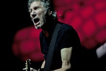 Roger Waters in action. Photo / Chris Loufte