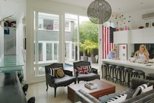 Sally Ridge's Grey Lynn home is being marketed on a real estate website. Photo / Ted Baghurst