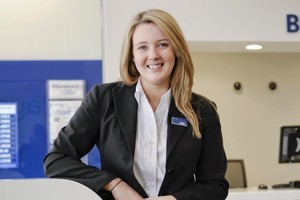 Lauren Barnes used her arts degree to develop her leadership role as an assistant bank manager. Photo / Ted Baghurst.