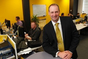 Staff shareholding has benefits - but Intergen's Tony Stewart wishes it was simpler to administer. Photo / Mark Mitchell