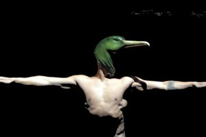 Lemi Ponifasio's Birds With Skymirrors uses dance, poetry, ceremony, chant and oratory to reflect on our connection with our environment. Photo / Supplied
