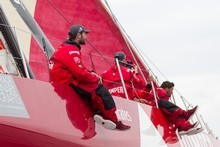 Camper made a strong start but a major tactical miscue. Photo / Volvo Ocean Race