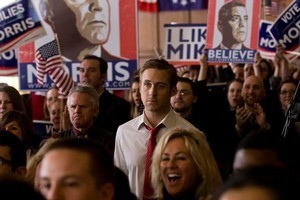 Brad Pitt (left in Moneyball) and Ryan Gosling (right in Ides of March) put in compelling performances. Photos / Supplied