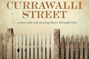 Book cover of Currawalli Street. Photo / Supplied