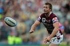 Manly's Kieran Foran played in the Four Nations competition in Britain only a few months ago. Photo / Brett Phibbs