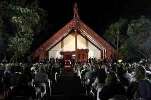Waitangi Day dawn service. Photo / Natalie Slade