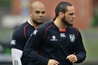 Sam Rapira (L) and brother Steve Rapira. Photo / Daily Mail