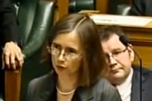 Green Party MP Mojo Mathers made her maiden speech today. Photo / supplied