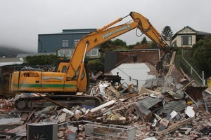 The rebuilding of Christchurch is eventually expected to boost growth. Photo / APN