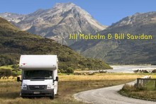 'The Great Kiwi Motorhome Guide' by Jill Malcolm and Bill Savidan. Photo / Supplied