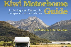 'The Great Kiwi Motorhome Guide' by Jill Malcolm and Bill Savidan. Photo / Supplied