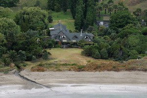 Mark and Amanda Hotchin's plans to replace the main dwelling on the property stalled when Hanover's assets were transferred to Allied Farmers. Photo / APN