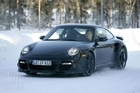 The 2009 Porsche 911 Turbo testing in Scandanavia in 2008. Photo / Supplied
