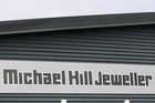 Michael Hill Jewellers in Merivale Mall is one of the shops forced to close until further notice. Photo / NZPA