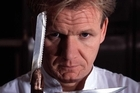 Georgio Cinderella reckons he could get hyperactive UK chef Gordon Ramsay (above) to turn his meals out faster. Photo / Supplied