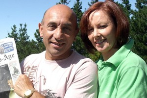 Christine Tracey has used leap year to propose to partner Ron Mark. Photo / Wairapa Times-Age