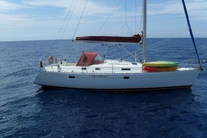Richard Rusbatch's yacht Honfleur was found at sea with the motor running and noone onboard. Photo / Supplied
