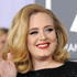 Adele looked glam in a black, sequined Giorgio Armani design. Photo / AP