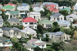Quotable value says New Zealand property values have gone up 1.1 per cent in the last three months. Photo / Herald on Sunday