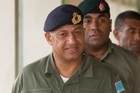 Fiji's military commander Commodore Frank Bainimarama visited NZ in 2006. File photo / Brett Phibbs