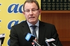 New ACT Party leader John Banks. Photo / Mark Mitchell