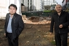 John Chow (left) and his brother Michael Chow of the Chow Group. Photo / Paul Estcourt