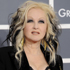 Cyndi Lauper went gothic and came out a bit hocus pocus. Photo / AP
