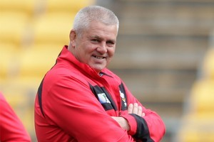 Wales coach Warren Gatland will have reconstructive surgery on his right heel. Photo / Mark Mitchell