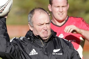 Graham Henry will work with the country's leading high-performance coaches. Photo / Mark Mitchell