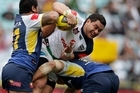 Konrad Hurrell in action during last year's Toyota Cup Grand Final. Photo / Brett Phibbs