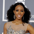 Kelly Rowland looked gorgeous in this peach Alberta Ferretti dress with embellished tulle. Love the ginormous Lorraine Schwartz cocktail ring. Photo / AP