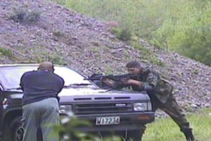 Surveillance footage was yesterday shown at the Urewera trial. Photo / Supplied