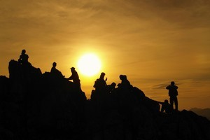 Teamwork is the key in an Outward Bound course. Photo / Thinkstock