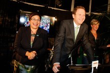 Green Party co-leaders Metiria Turei and Russel Norman. Photo / Getty Images