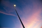 A flickering streetlight can be solved by a call to Auckland Transport. Photo / Thinkstock