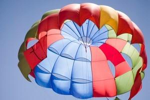 A parachute jumper was injured at Muriwai. Photo / Thinkstock