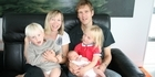 View: The Cutler-Welsh family and their quake baby