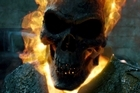 A scene from upcoming blockbuster Ghost Rider: Spirit of Vengeance. Photo / Supplied