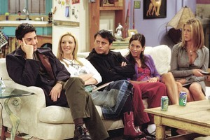 Jennifer Aniston says a Friends movie probably won't happen. Photo / Supplied