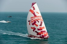 Camper with Emirates Team New Zealand. Photo / Paul Todd/Volvo Ocean Race
