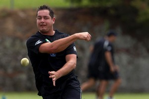 New Zealand Black Cap Jesse Ryder. Photo / Brett Phibbs