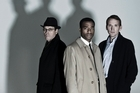 Gabriel Byrnes, Chiwetel Ejiofor and Christopher Eccleston in The Shadow Line. Photo / Supplied
